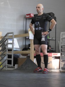 The thing about Olympic lifting. You have both a ton of time to wait, and no time. You have to stay in the zone.